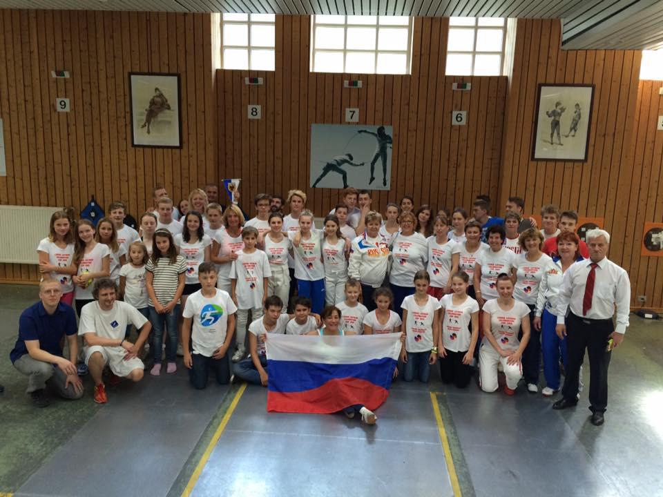 35 Gäste aus Moskau und Jekaterinburg zu Besuch in München
